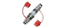 Rapid couplers with extension for pipe - L